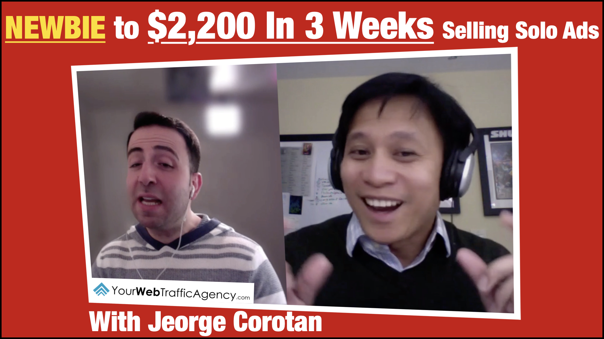 Jeorge Corotan – Delaware, USA. On Track To $10K/Month